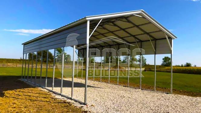 A-frame RV Carport