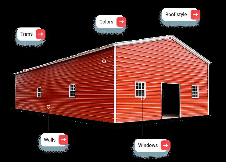 customize buildings