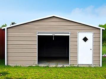 A-Frame Roof Garages