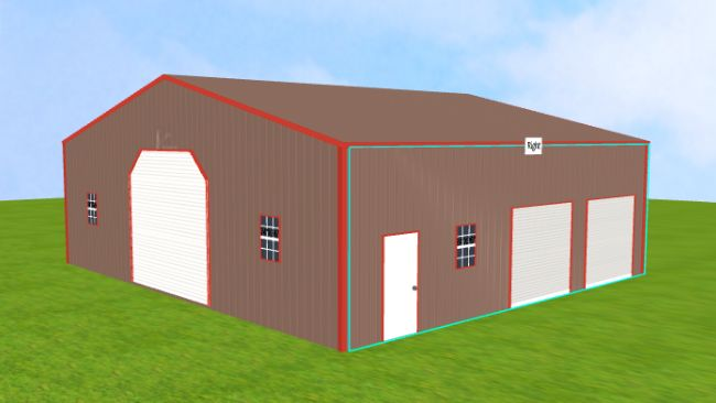 40×36 Commercial Steel Building Page