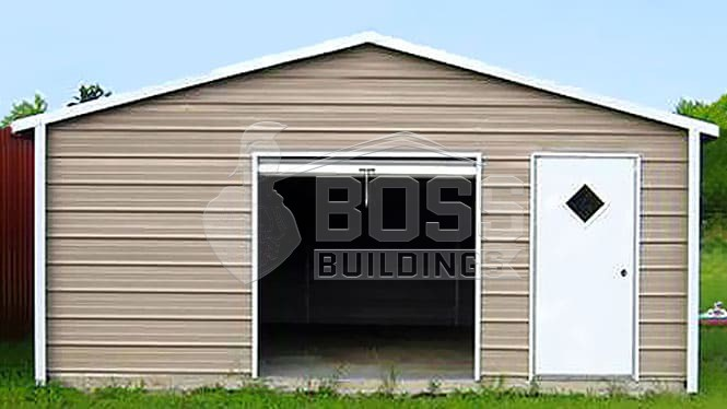 18×26 A-Frame Horizontal Roof Garage
