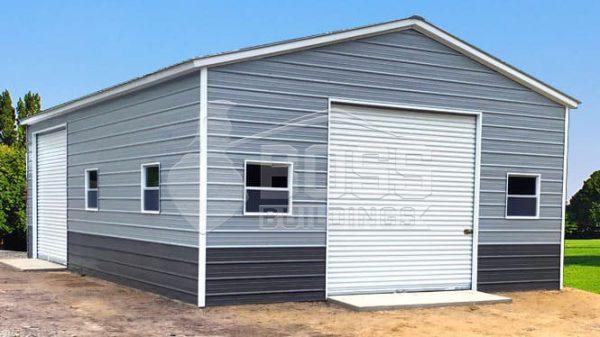 22×36 Two Tone Color garage