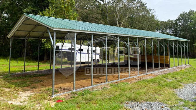 Why You Should Choose a Custom Lean-To Metal Carport?