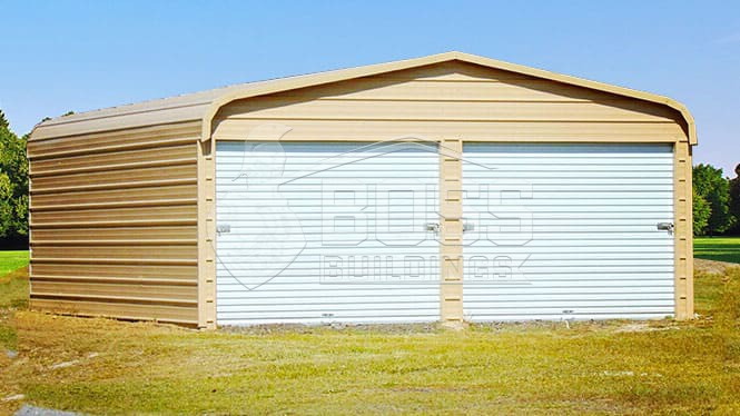 24×26 Regular Roof Garage