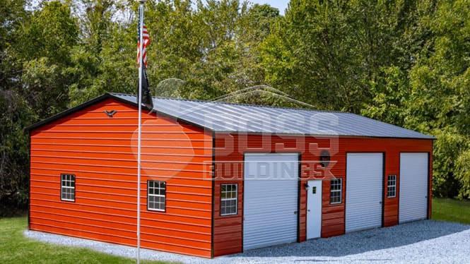 24×41 Side Entry Garage