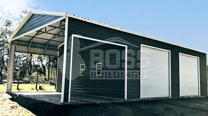 30×51 Utility with Side Entry Roll-up Doors
