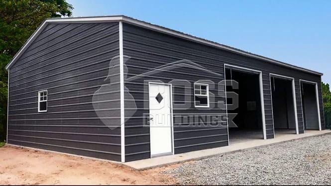 30×51 Triple Wide Vertical Roof