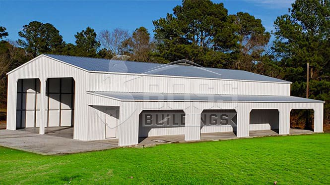 40×81 Commercial Vertical Garage