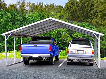 THE BOSS Has the Best Metal Carports!