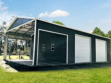 THE BOSS Has Ideal Metal Utility Buildings