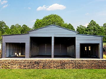 The Best Metal Barns Come From THE BOSS!