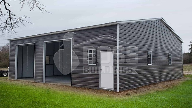 40×41 Commercial Metal Building