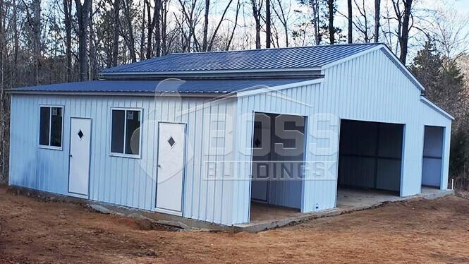 24x31 Steel Barn