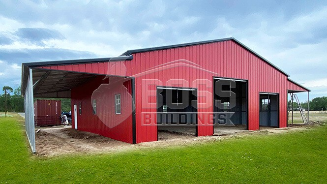 66x42 Commercial Barn