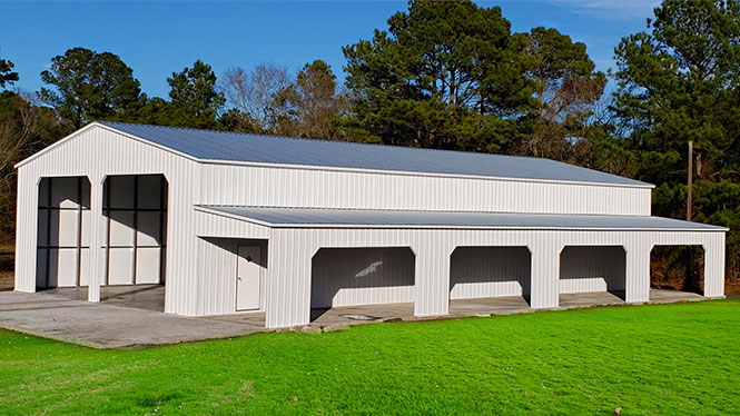 40x81 Commercial Steel Building